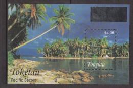 Tokelau 2003 Wellpex Palm Tree Prime Minister's Visit Overprint FU