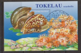 Tokelau 1996 Shell Miniature Sheet FU