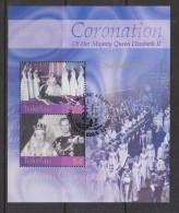 Tokelau 2003 QEII Coronation Anniversary Miniature Sheet FU