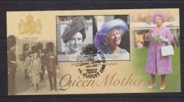 Tokelau 2002 Queen Mother memorial Miniature Sheet FU