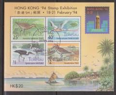 Tokelau 1994 Bird Hong Kong Exhibition Miniature Sheet FU