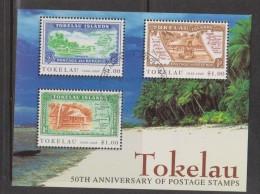 Tokelau 1998 Stamp Anniversary Miniature Sheet FU