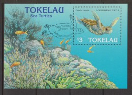 Tokelau 1995 Turtle Miniature Sheet FU