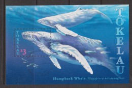 Tokelau 1997 Whale Miniature Sheet FU
