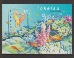 Tokelau 2001 Seahorse Miniature Sheet FU