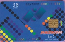 Malte  224  :-.   Payzone  Cooperative  °=°   First  Anniversary  °  **   T B E - Malte