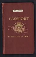 Passeport Des USA  Emis En 1929  Nombreux Visas Et Timbres: France, Autriche, Grande-Bretagne, Excellent état - Documents Historiques