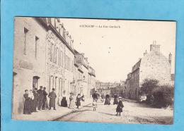 --192)9)   GUINGAMP  RUE GORDOC H Animée 1910  ( PETITES   TACHES Dans Le Ciel Sinon TTB) - Guingamp
