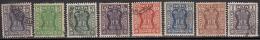 Service Used, Set Of 8, Ashokan Wmk, India 1967, (Sample Image) - Dienstzegels