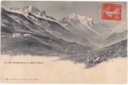Le  Col  De  Balme  Et  Le  Mont-Blanc - Chamonix-Mont-Blanc