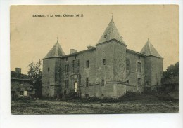 CPA  54  :  CHARMOIS   Le Vieux Château  1908  A    VOIR  !!!! - Autres Communes