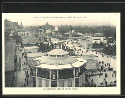 CPA Paris, Exposition Des Arts Décoratifs 1925, Vue Générale Vers Le Grand Palais - Expositions