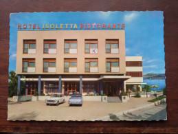 Hotel ISOLETTA Ristorante LESA Lago Maggiore - Anno 1966 ( zie foto voor details )