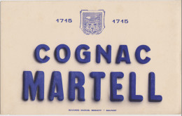 Buvard : Cognac MARTELL - Buvards, Protège-cahiers Illustrés