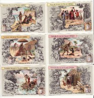 CHROMO Liebig Robinson Crusoé Ile Vendredi (la Série De 6) TBE S1078 - Liebig