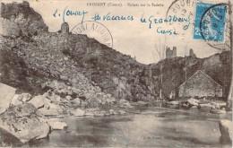 CPA   Crozant Ruines Sur La Sedelle   BB 284 - Crozant