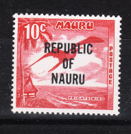 Nauru   -   1968.  Fregata. Frigate.  MNH, Fresh - Albatro & Uccelli Marini