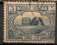 Timbres - Asie - Iraq - 1924 - 3 Annas - - Iraq