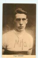 Roger DENEEF, Mifa. 2 Scans. Edition Sportkaarten Franck, Nels - Cyclisme