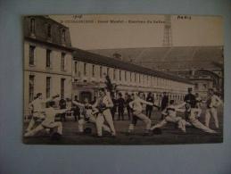CP PARIS  2e CUIRASSIERS-COUR WESTEL-ESCRIME DU SABRE - ECRITE EN 1912 - Regimenten