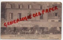 27 - QUILLEBEUF SUR SEINE - HOTEL DE LA MARINE - ANDRE YVES  PROPRIETAIRE - Sonstige Gemeinden