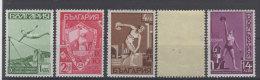 Bulgarien Michel No. 360 - 364 ** postfrisch / No. 363 * ungebraucht