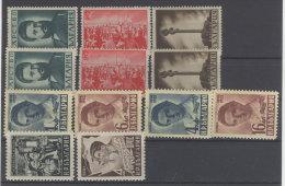 Lot Bulgarien Michel No. 426 - 428 , 664 - 665 , 805 - 806 ** postfrisch