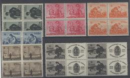 Bulgarien Michel No. 456 - 461 ** postfrisch Viererblock