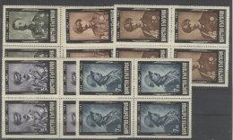 Bulgarien Michel No. 462 - 466 A ** postfrisch Viererblock