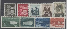 Lot Bulgarien Michel No. 994 - 995 , 1033 - 1034 , 1048 - 1051 , 1026 ** postfrisch
