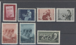 Lot Bulgarien Michel No. 1015 , 1016 - 1018 , 1019 - 1020 , 1032 ** postfrisch