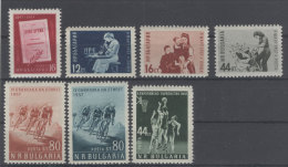 Lot Bulgarien Michel No. 1015 , 1016 - 1018 , 1019 - 1020 , 1028 ** postfrisch