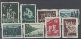 Lot Bulgarien Michel No. 1028 , 1035 - 1039 , 1046 - 1047 ** postfrisch