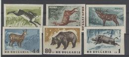 Bulgarien Michel No. 1058 - 1063 B ** postfrisch