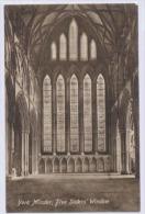 YORK MINSTER Five Sisters' Window - York