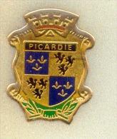 Rare Pin´s Blason De Picardie - Otros