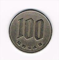 JAPAN  100 YEN 1969 ( 44 ) - Japon