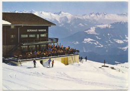 2196 - AK Flims, Berghaus Nagiens Mit Blick Gegen Engadiner Berge - GR Graubünden