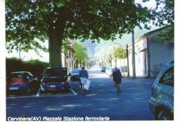 """Cervinara (AV)  Piazzale Stazione Ferroviaria    """" FOTO Formato 14,7 X 10,6 """" - Lieux"""