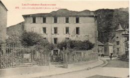 09 - Aulus Les Bains -hotel Et Cafe De PARIS - Autres Communes