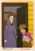 CARTE POSTALE BANDES DESSINEES ANTENNE 2 TOM SAWYER - Comics