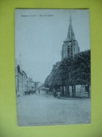Cpa - Vémars (95) - Rue De L'église - France