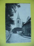 Cpa - Vémars (95) - Route De Villeron - France