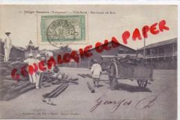MADAGASCAR - DIEGO SUAREZ - VILLE BASSE  MARCHANDS DE BOIS - Madagascar