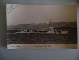 CP   TORPILLEUR BALISTE - Guerra