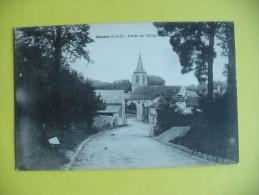 Cpa - Vémars (95) - Entrée Du Village - France