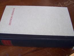 DEUTSCHE ERZÄHLER Ausgewählt Und Eingeleitet Von HUGO VON HOFMANNSTAHL 1964 Deutsche BUCH GEMEINSCHAFT - Biographies & Mémoires