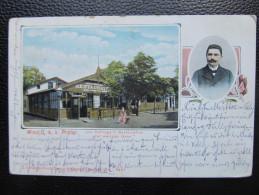 AK WIEN PRater Gasthaus 1906  ///  U2950 - Prater