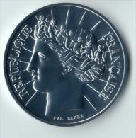 ** 100 FRANCS 1988 FRATERNITE ARGENT  FDC ** - N. 100 Francs