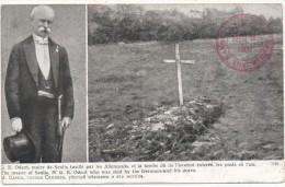 SENLIS - G.E. Odent, Maire, Fusillé Par Les Allemands  - Cachet Militaire - Lapina 1765 - Weltkrieg 1914-18